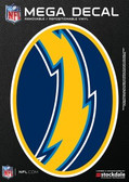 """San Diego Chargers 5""""x7"""" Mega Decal"""