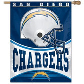 """San Diego Chargers 27""""x37"""" Banner"""