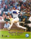 Sammy Sosa Chicago Cubs 400th Home Run 8x10 Photo