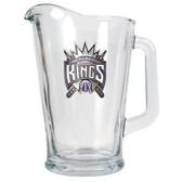 Sacramento Kings 60oz Glass Pitcher