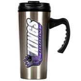 Sacramento Kings 16oz Stainless Steel Travel Mug