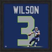 Russell Wilson Seattle Seahawks 20 x 20 Framed Uniframe Jersey Photo