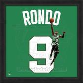 Rajon Rondo Boston Celtics 20x20 Framed Uniframe Jersey Photo