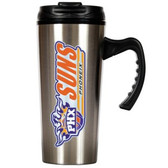 Phoenix Suns 16oz Stainless Steel Travel Mug