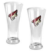 Phoenix Coyotes Oval Pilsner Glass Set