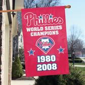 Philadelphia Phillies World Series Champions Banner Flag