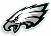"""Philadelphia Eagles 12"""" Logo Car Magnet"""