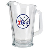 Philadelphia 76ers 60oz Glass Pitcher