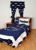 Penn State Bed in a Bag Twin - With Team Colored Sheets