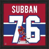 P.K. Subban Montreal Canadiens 20x20 Framed Uniframe Jersey Photo