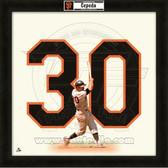 Orlando Cepeda San Francisco Giants 20x20 Framed Uniframe Jersey Photo