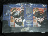 NFL 1994 Action Packed Rookie Update Box