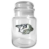 Nashville Predators 31oz Glass Candy Jar