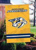 Nashville Predators 2 Sided Banner Flag