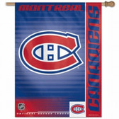 """Montreal Canadiens 27""""x37"""" Banner"""