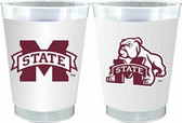 Mississippi State Bulldogs 10 oz. Frosted Cups