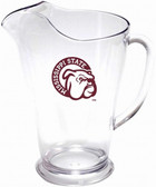 Mississippi State 64 oz. Crystal Clear Plastic Pitcher