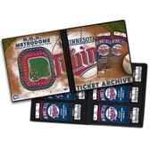 Minnesota Twins (Holds 96 Tickets) Ticket Album MLB