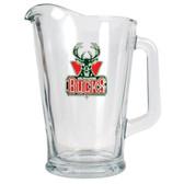 Milwaukee Bucks 60oz Glass Pitcher
