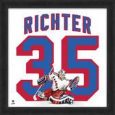 Mike Richter New York Rangers 20x20 Framed Uniframe Jersey Photo