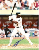 Miguel Tejada Oakland Athletics Signed 8x10 Photo #4