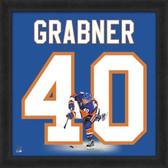 Michael Grabner New York Islanders 20x20 Framed Uniframe Jersey Photo