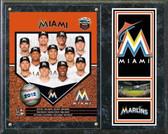 Miami Marlins 2012 Team Plaque
