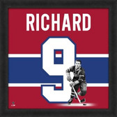 Maurice Richard Montreal Canadians 20x20 Framed Uniframe Jersey Photo