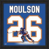 Matt Moulson New York Islanders 20x20 Framed Uniframe Jersey Photo
