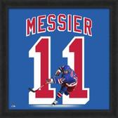 Mark Messier New York Rangers 20x20 Framed Uniframe Jersey Photo