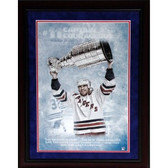 Mark Messier Captain Courageous Uns Photo Framed  Collage (14X20 9722)