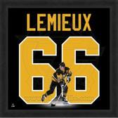 Mario Lemieux Pittsburgh Penguins 20x20 Framed Uniframe Jersey Photo