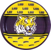 """Lousiana State Tigers 9"""" Paper Plates"""