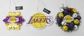 Los Angeles Lakers 3 Piece Christmas Ornament Box Set