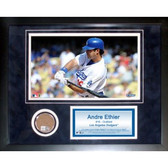 Los Angeles Dodgers Andre Ethier 11x14 Framed Mini Dirt Collage