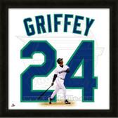 Ken Griffey Jr. Seattle Mariners 20x20 Framed Uniframe Jersey Photo