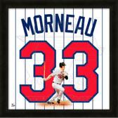 Justin Morneau Minnesota Twins 20x20 Framed Uniframe Jersey Photo
