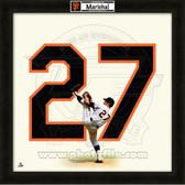 Juan Marichal San Francisco Giants 20x20 Framed Uniframe Jersey Photo