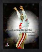 Joe Montana San Francisco 49ers 8x10 ProQuote Photo