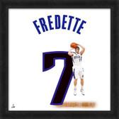 Jimmer Fredette Sacramento Kings 20x20 Framed Uniframe Jersey Photo