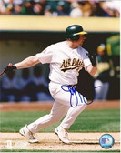 Jeremy Giambi Oakland Athletics Signed 8x10 Photo