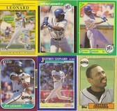 Jeffrey Leonard 6 Card Lot Set