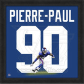 Jason Pierre-Paul New York Giants 20x20 Framed Uniframe Jersey Photo