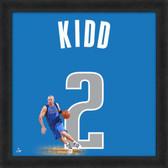 Jason Kidd Dallas Mavericks 20x20 Framed Uniframe Jersey Photo