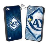 Iphone 5 MLB Tampa Bay Rays Large Logo Lenticular Case