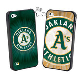 Iphone 5 MLB Oakland A'S Large Logo Lenticular Case