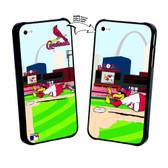 Iphone 4/4S MLB St. Louis Cardinals Mascot Lenticular Case