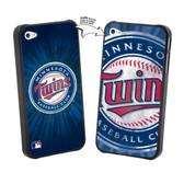 Iphone 4/4S MLB Minnesota Twins Large Logo Lenticular Case