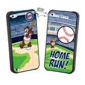 Iphone 4/4S MLB Minnesota Twins Mascot Lenticular Case