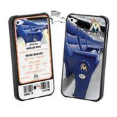 Iphone 4/4S MLB Miami Marlins Stadium Lenticular Case